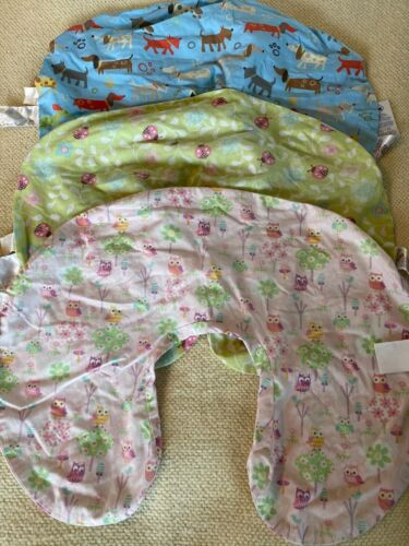Boppy Covers Lot of 3