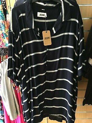 JACAMO  shirt    2XL  extra LONG bnip  BIG&TALL