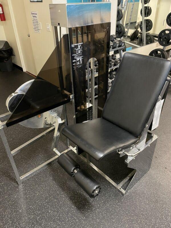 leg extension machine used