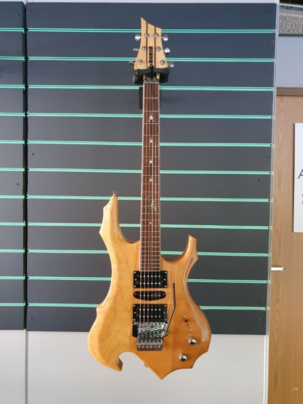Marlin Wizard Scorpion Floyd Rose Gloss Natural Electric Guitar