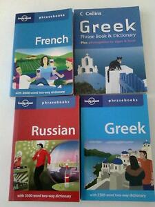 Lonely Planet Phrase Books with two-way dictionary -Various Sunnybank Hills Brisbane South West Preview