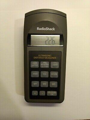 Radio Shack Ultrasonic Distance Measurer 63-1005 Tested