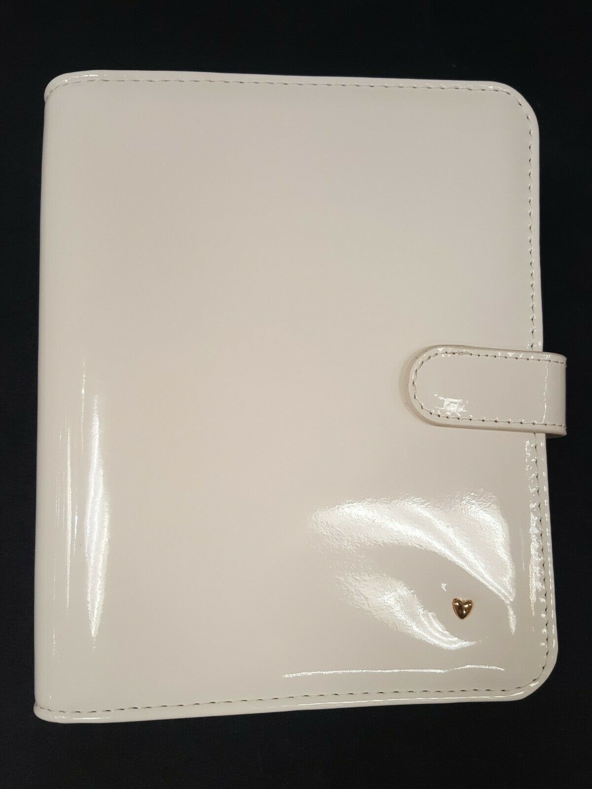 compact planner love binder ivory