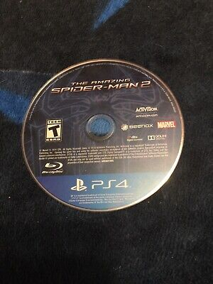 the amazing spiderman 2 ps4 Disk Only