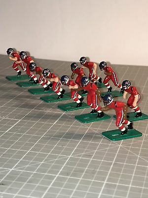 Tudor Electric Football Game Custom NFL Houston Texans Battle Red Uniforms NEW!