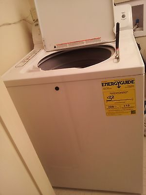 GE 4.0 cu. ft. High-Efficiency Top Load Washer in White, ENERGY STAR