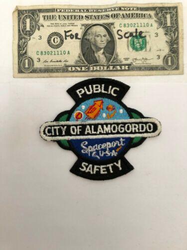 Alamogordo New Mexico Police Patch Un-sewn great condition