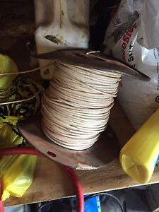 Electrical wire from our renovation