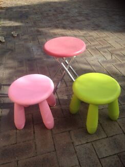 3 x kids stools Marangaroo Wanneroo Area Preview