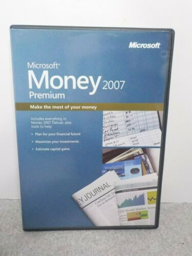 Microsoft Money Premium 2007 Finance Software