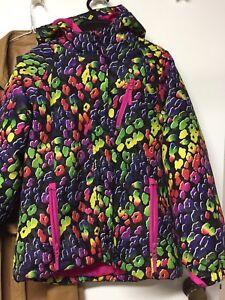 Girl large winter coat