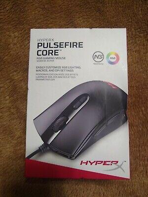 HYPERX PULSEFIRE CORE HX-MC004B-B GAMING MOUSE BRAND NEW RGB