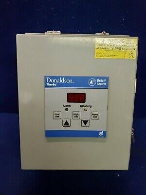 Donaldson Torit Dust Collector Delta P Control Panel