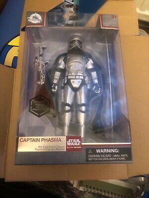 Star Wars The Last Jedi - Captain Phasma Elite Series Die Cast Action Figure New