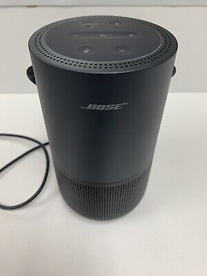 Bose Portable Home Smart Speaker with Voice Recognition and Control Black
