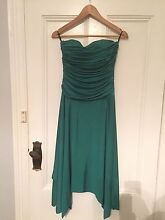 Emerald green boned formal/prom dress, size 12 Balaklava Wakefield Area Preview