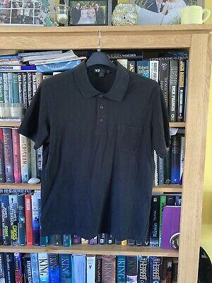 Adidas Y3 Polo Shirt Size Large.(753)