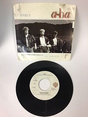 45 RPM : a-ha / Take On Me - Love Is Reason
