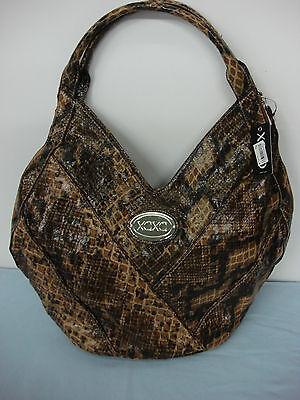Xoxo Hobo Handbag - NWT Womens XOXO Breakaway Shoulder Bag Hobo Purse Handbag Exotic #4L