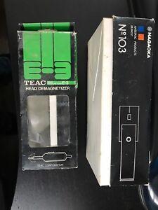 Démangnétisseurs pour têtes de lecture de lecteur à cassette