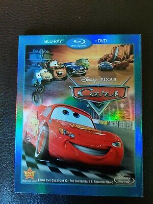 Cars (Blu-ray/DVD, 2-Disc Set) Disney Pixar