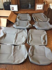 Factory Seat Covers for 05-15 Tacoma TRD
