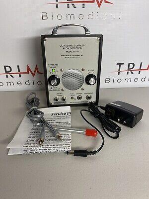 Parks Medical Electronics 811-b Ultrasonic Doppler Flow Detector Wprobe Charger