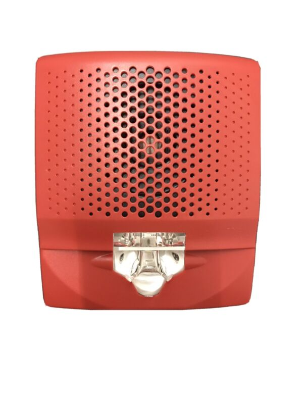 EDWARDS G4AVRF Red Wall Horn with LED Strobe Light