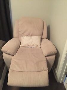 Custom made lazy boy reclining nursery chair