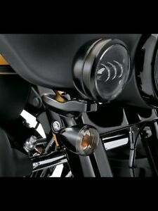 Black passing lamp kit for street glide