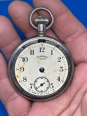 Antique Ingersoll Yankee Pocket Watch Watch Made in USA