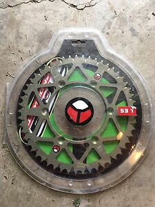 TAG 53t sprocket brand new KX125 kx250 kx250f kx450f