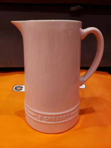 New w Tag Le Creuset Chiffon Pink Pitcher Jug  1.5L / 1.6QT Free Shipping