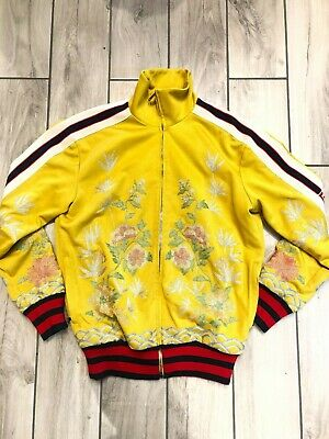 "Used, GUCCI JACKET ""FLOWERS"" YELLOW - ITEM NUMBER 3347-49 for sale  Shipping to India"