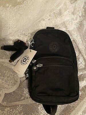 NWT Kipling Blake Small Backpack Sling Bag Black BP 4513. FREE SHIPPING