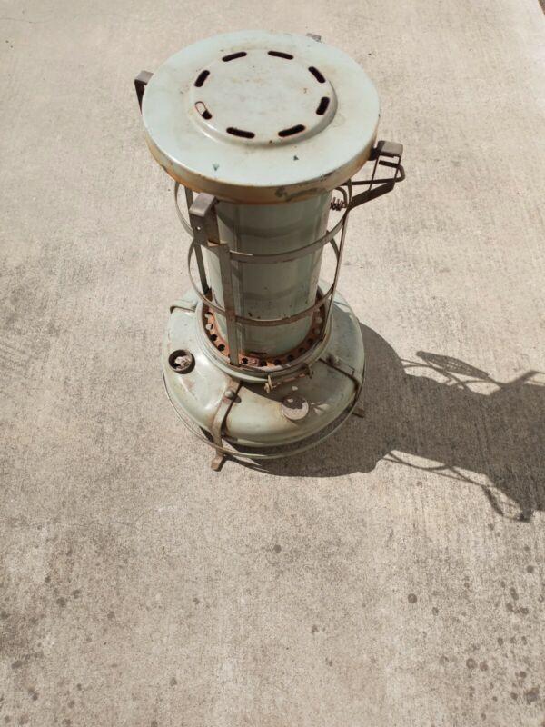Antique Aladdin Blue Flame Kerosene Space Heater w/ some losses