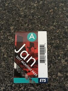 Jan adult bus pass for sale $50