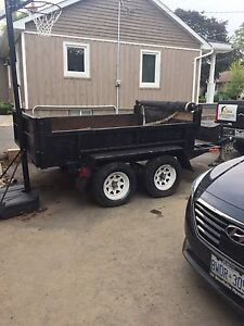 **BEST DEAL ON KIJIJI** Mint 2006 6x10 Hydraulic Dump Trailer!