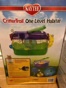 Hamster/gerbils/mice cage and accessories