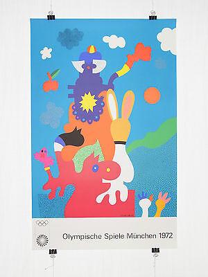 Poster Plakat - Olympiade 1972 München - Otmar Alt - Moderne