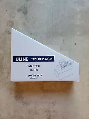 Uline 2 Industrial Tape Dispenser H-150 New In Box