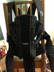 Baby Bjorn black miracle baby carrier. Ashfield Ashfield Area Preview