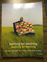 Learning for Teaching. Teaching for Learning. Rochedale South Brisbane South East Preview