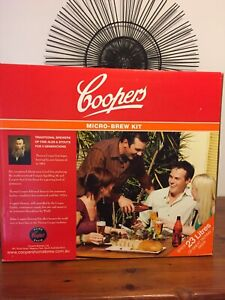 Coopers Micro Brew kit, Beer, Home Brew Kit