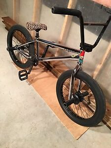 Custom BMX with stock sunday frame and forks!!!