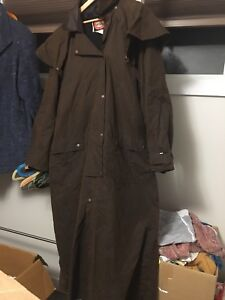 The Australian Outback Collection duster jacket trench mens xxl
