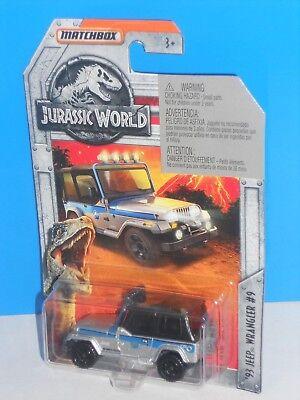 MBX Entertainment 2018 Jurassic World Series 17/18 '93 Jeep Wrangler #9 Silver