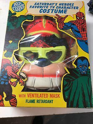 Banna Splits BINGO Rayon Halloween Mask Ben Cooper Vintage