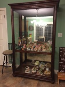 Free Cabinet with glass shelves