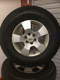 Nissan Navara stock alloys  North Adelaide Adelaide City Preview